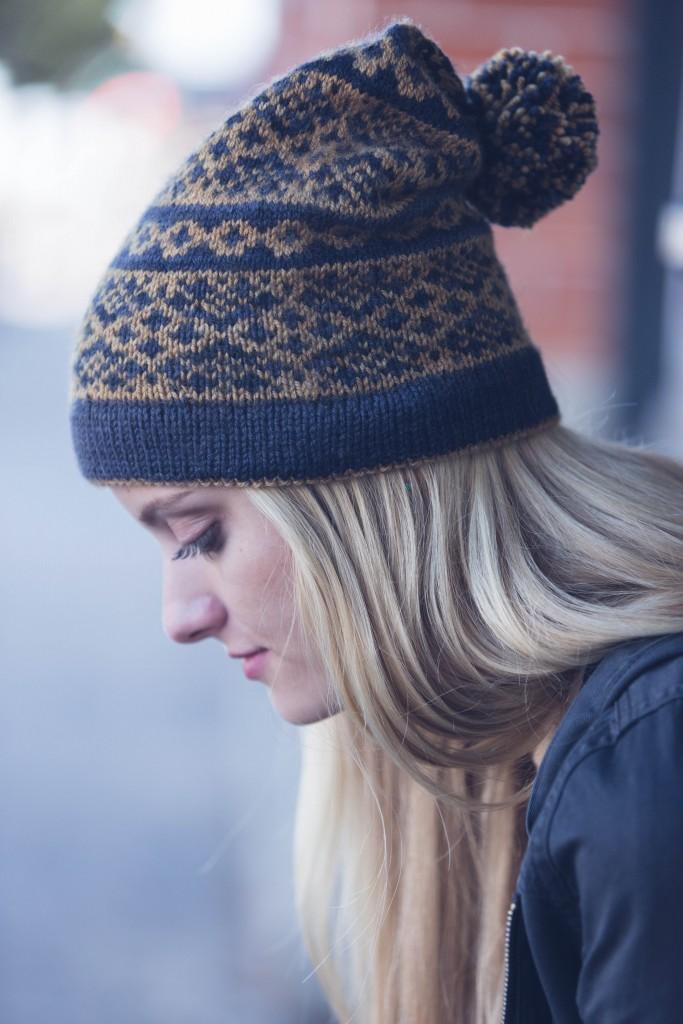 Joan Forgione Warwick Hat knit hat pattern