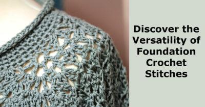 foundation crochet stitch
