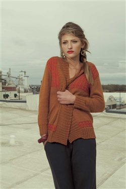 Frances Cardigan Amy Polcyn Knitscene