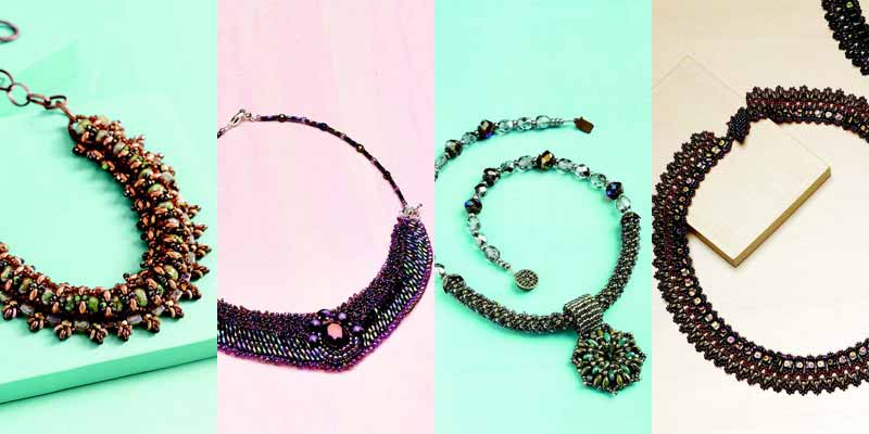 Jewelry Trends Report and Free Beaded Choker Necklace Projects