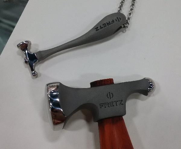 the Fretz hammer mini pendant