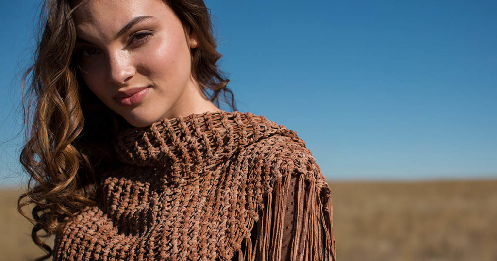 Pattern of the Week: Frontier Shawl