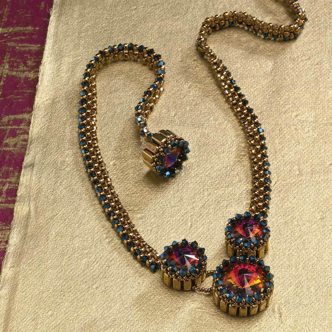 Leslee Frumin's Trio of Crowns Necklace