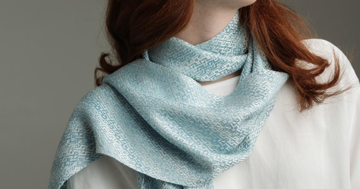 Troy 16-shaft scarf