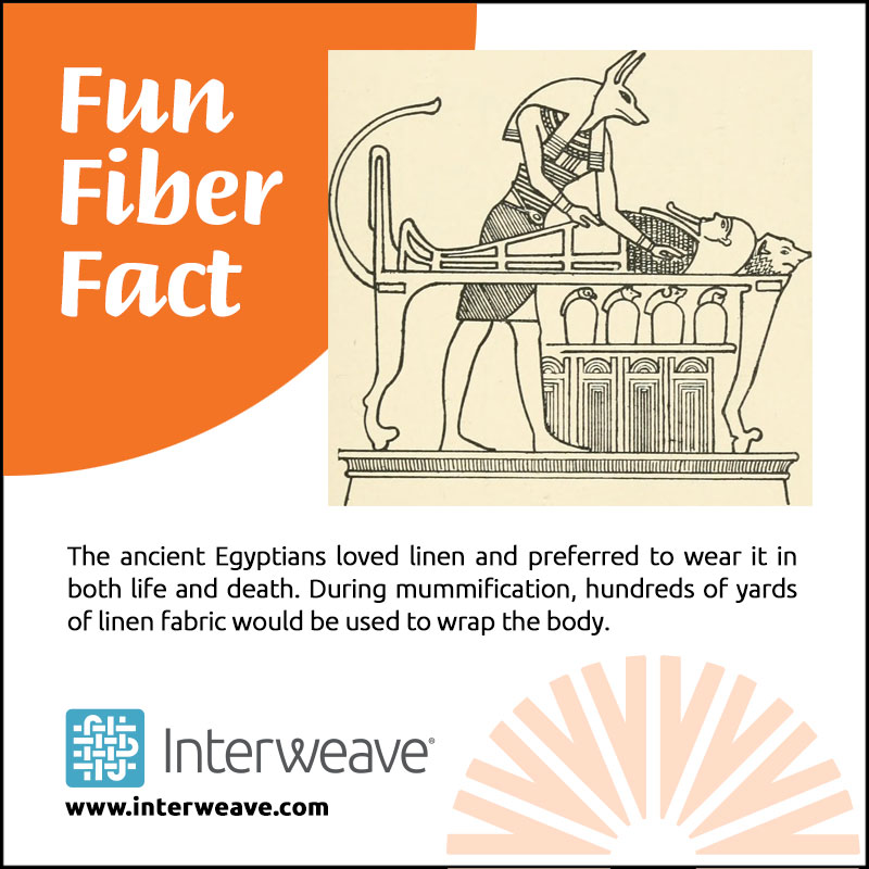 The ancient Egyptians loved linen