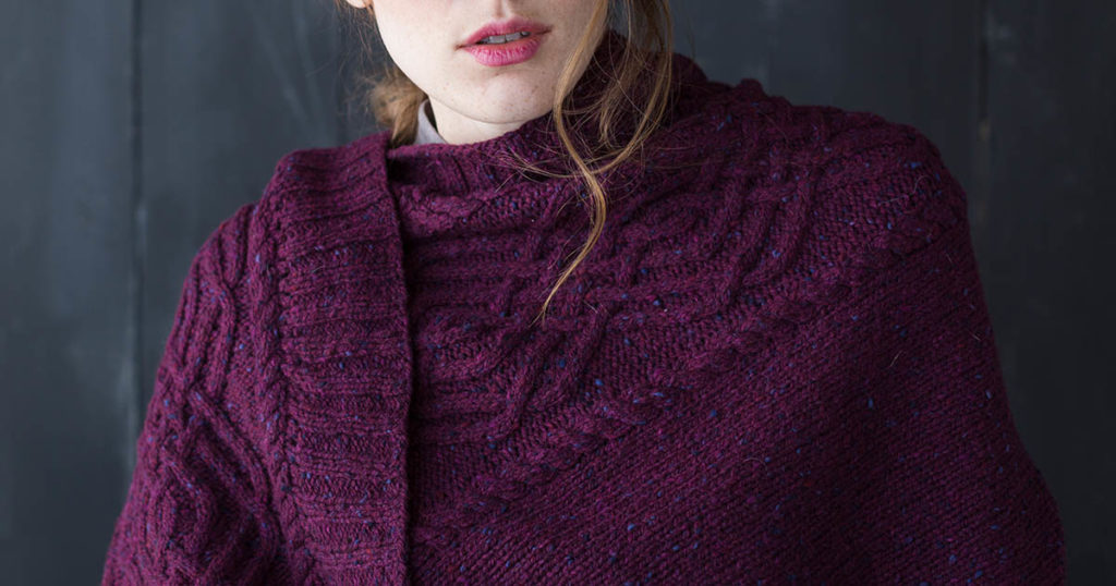 <em>Knits Gifts</em> 2018: Garnet Wrap