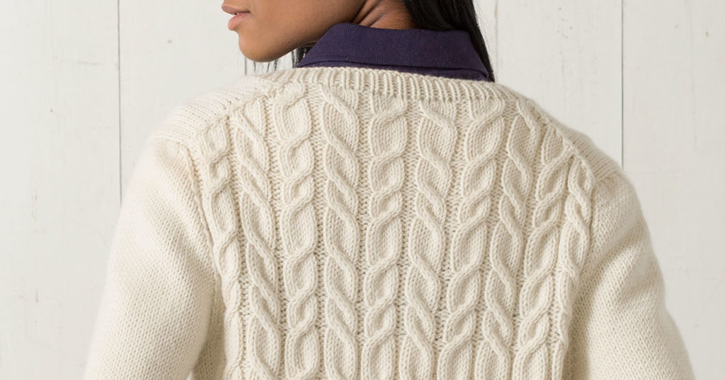 <em>Interweave Knits</em> Fall 2018: Great Island Pullover
