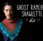 A Crochet-Off for You: The Ghost Ranch Shawlette