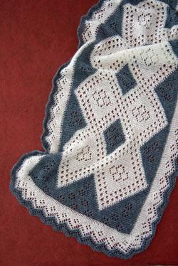 A beautiful version of Orenberg Lace Shawls