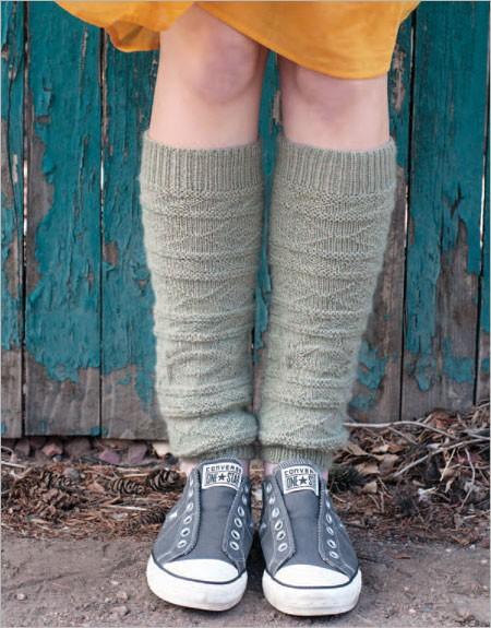 legwarmer knitting patterns