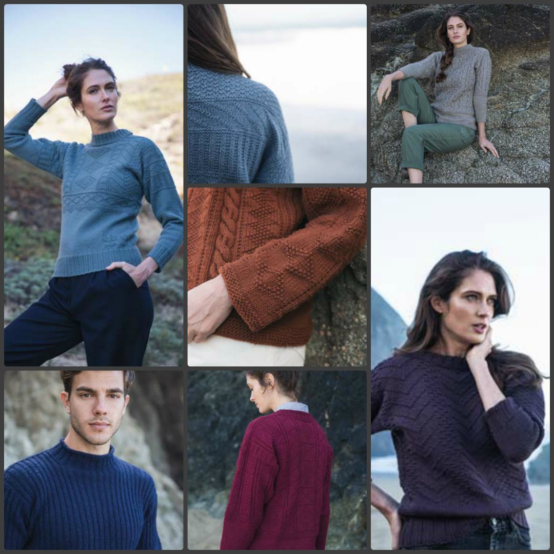 Just a small taste of some traditional Ganseys from Knitting Ganseys. Images © F+W Media, Inc. by David Baum.