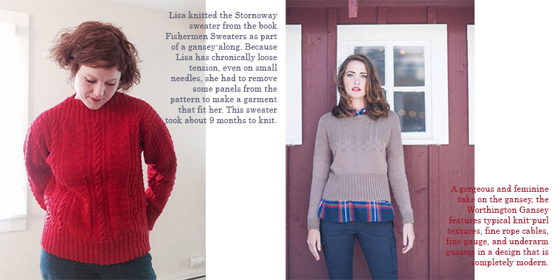 Lisas List 4 Sweaters To Knit Before You Die Interweave