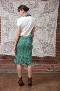Garden Skirt Back