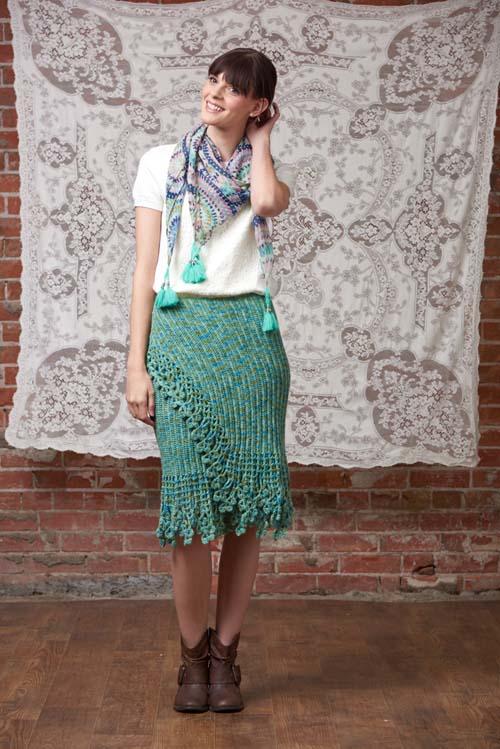 Garden Skirt Crochet Pattern