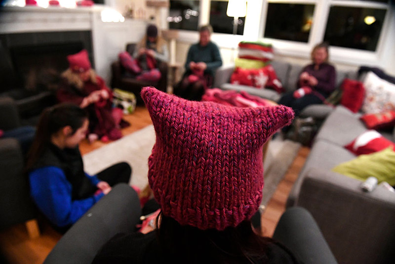 The Pussyhat Project & the Women's March on Washington