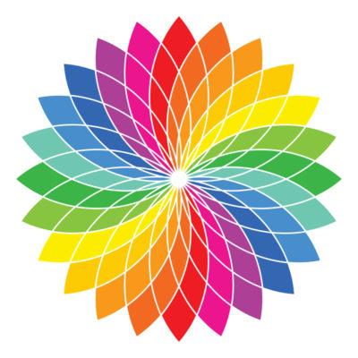 Glacial Weaving: Color wheel. Credit: pop_iop. Getty Images