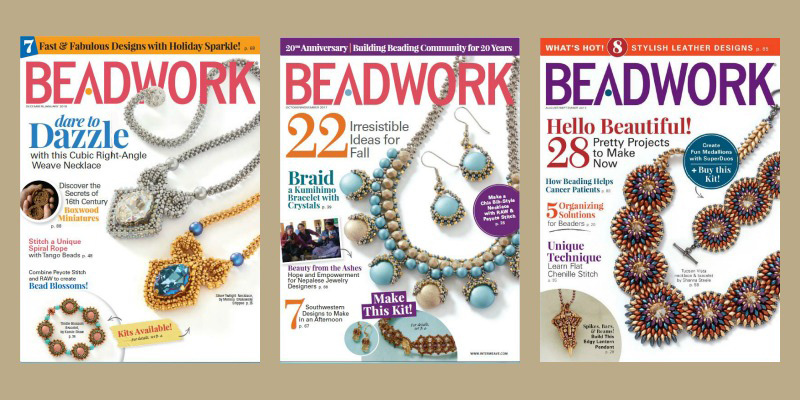 Gift a subscription to Beadwork magazine this holiday season