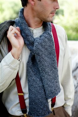 Gilbert's Scarf Knitting Pattern