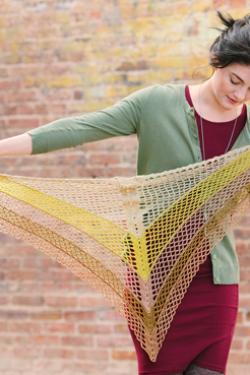 Gingko Shawl Crochet Pattern