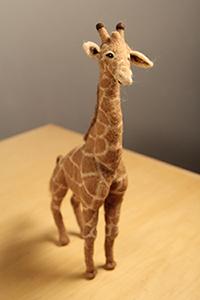 Needlefelted Giraffe