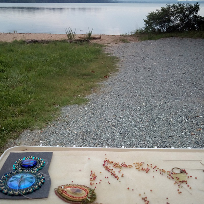 Beading on the Road with Michelle Gowland