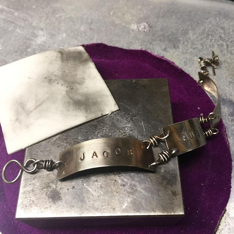 FREE Bracelet Jewelry Making Tutorial: The Grandma Bracelet