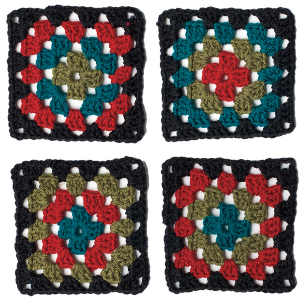 Granny-Squares-Color-Change-Up