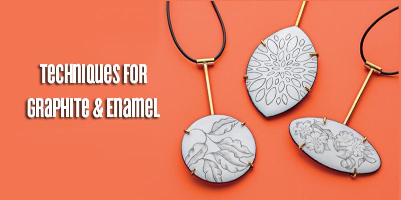Favorite Project of the Week: Graphite & Enamel Pendants