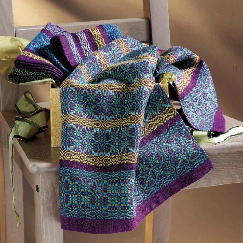 purple weaving
