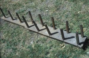 Guatemalan warping board c