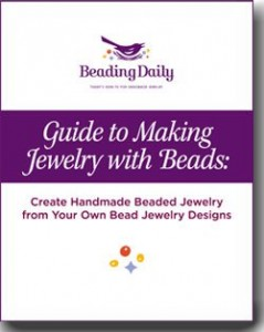 This free eBook is a guide to making jewelry with beads that features 12 different articles.