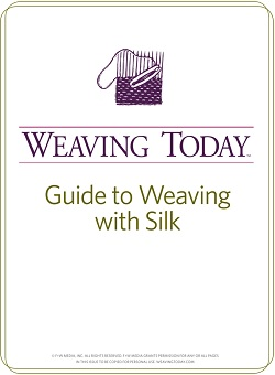 Learn how to weave with silk with this FREE guide on silk weaving and more.