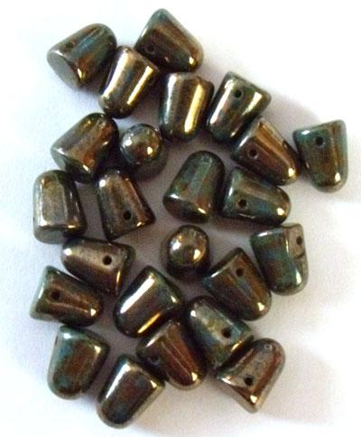 Gumdrop-beads