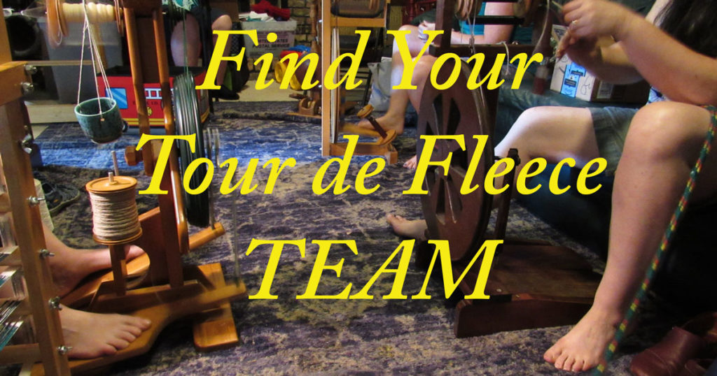Win the Tour de Fleece with a Virtual Spinning Team