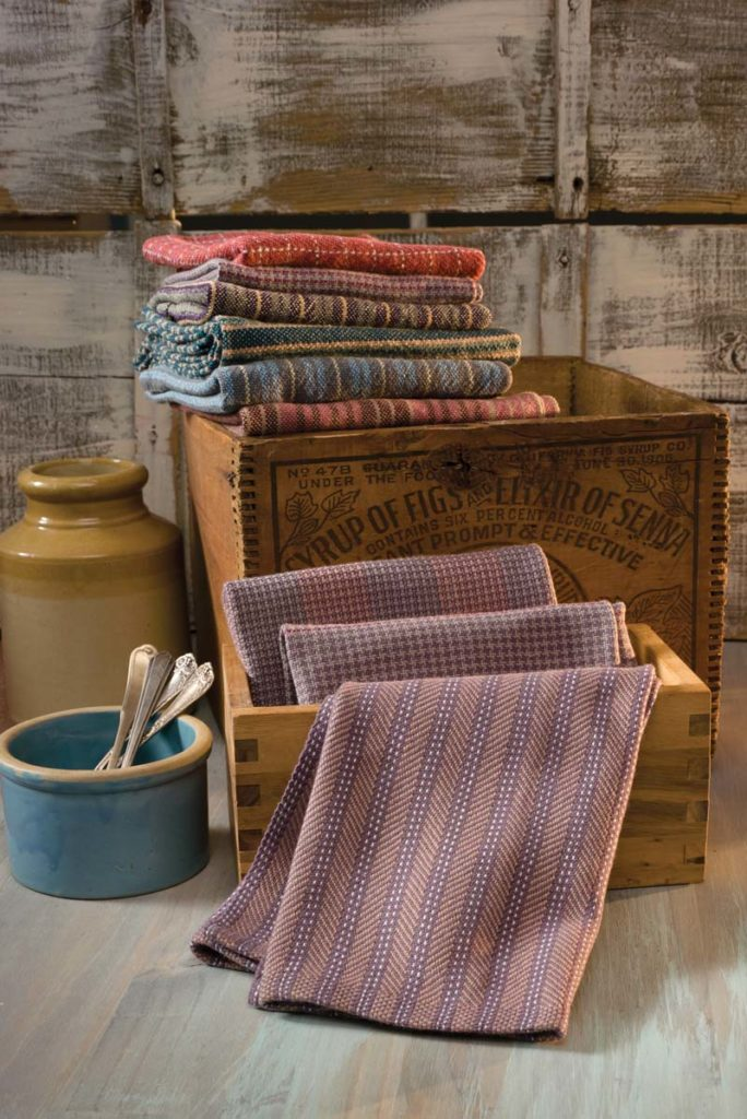 Washing Handwovens: Ozark Quilter Towels by Marty Benson. Handwoven March/April 2016