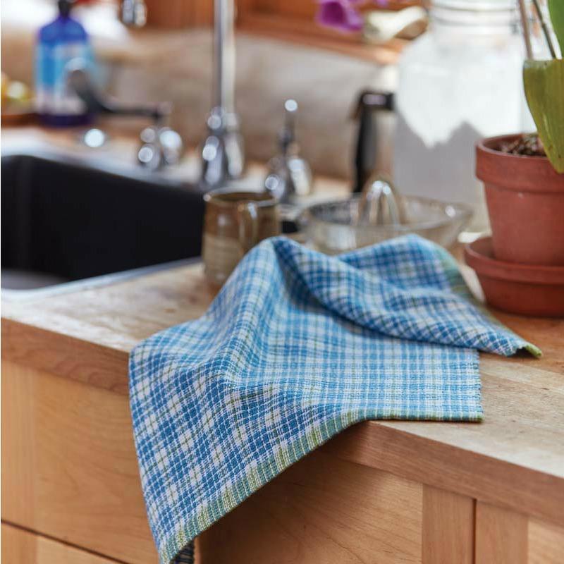 Winter's End Huck Towels ANGELA K. SCHNEIDER