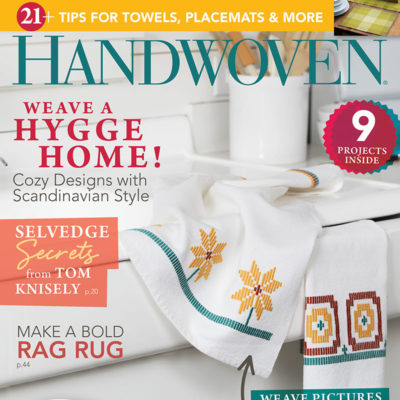 Handwoven March April 2017 Magazine Issue