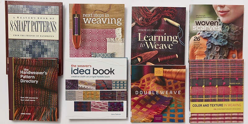 Interweave Staff Picks: 10 Favorite Weaving Books