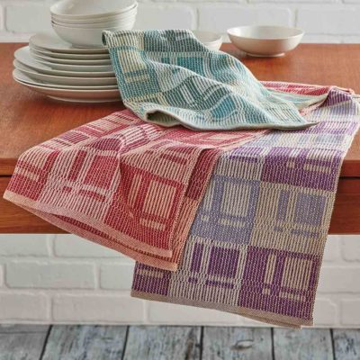 Towels in a Modern Arrangement