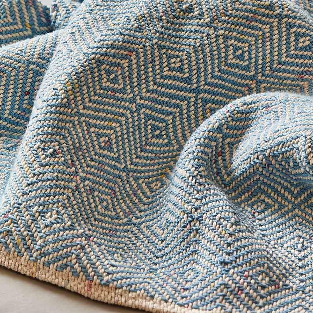 Goose-Eye Baby Blanket