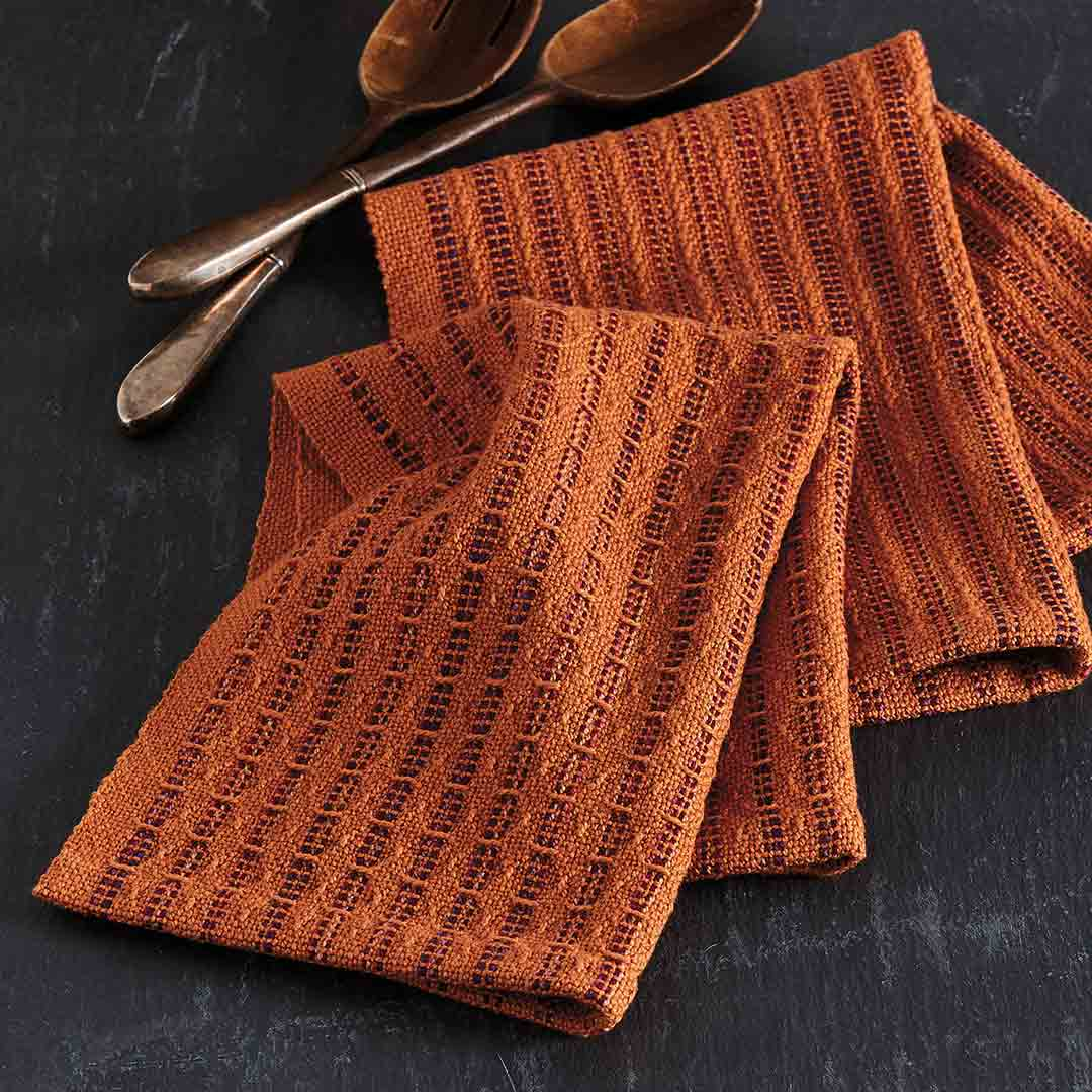 Two Savory Towels for the Rigid-Heddle Loom
