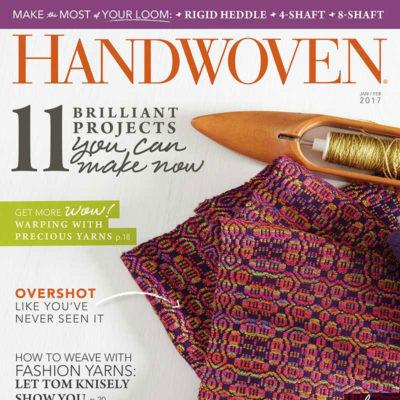 Handwoven Magazine January/February 2017