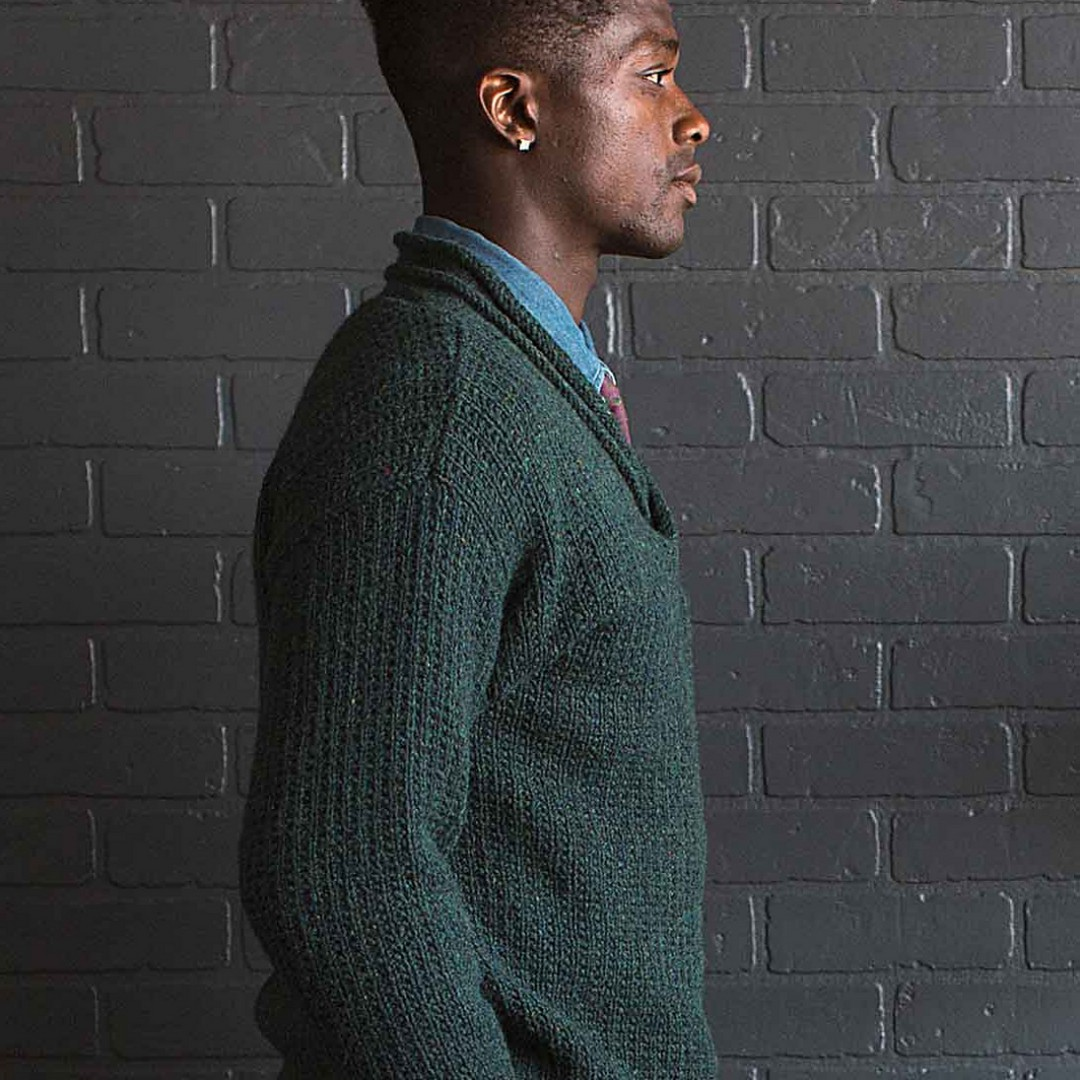 Hank's Pullover | Photography for Interweave Knits Fall 2017 by Nathan Rega
