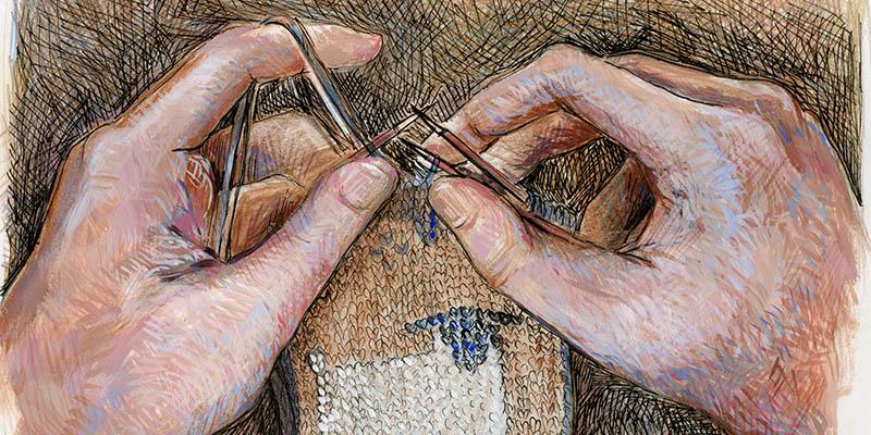 Artist Knitter Q&A: Julia Mills