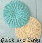 2 POWs in One Post: Textured Scrubbies & a Chunky Doily Rug
