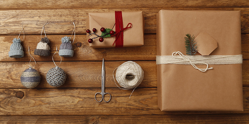 Yarn Leftovers: Holiday Hacks