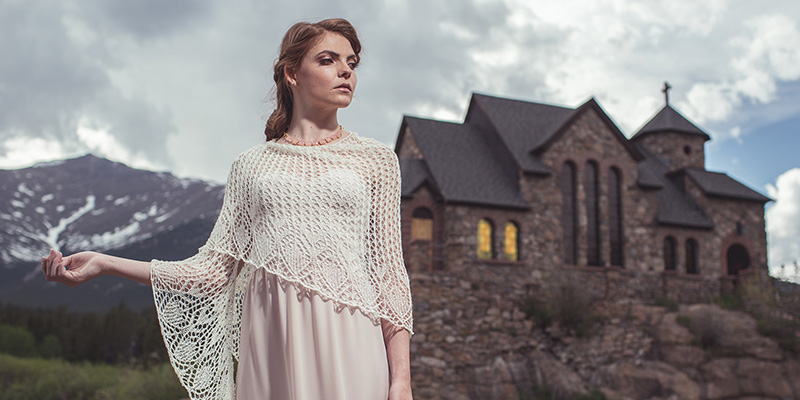 How-To Lace for a Winter Bride