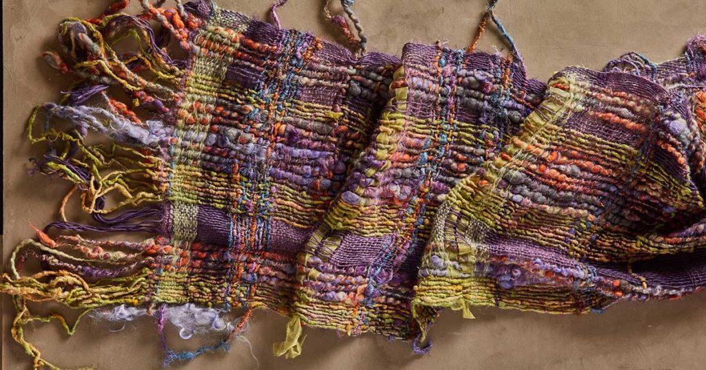 3 Tips for Using Handspun Art Yarns as a Warp