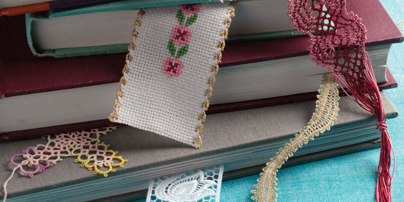 Knit a Lace Bookmark by Ava Coleman