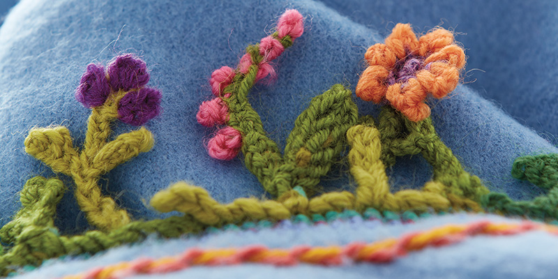 Creations in Cross-Knit Looping